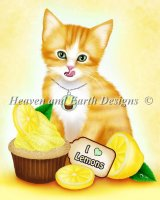 Lemon Cupcake Kitten