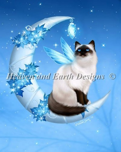 Winter Moon Cat