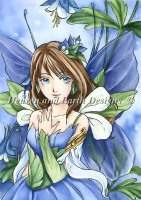 Blue Flower Fairy - Dillman