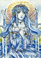 Blue Rose Fairy
