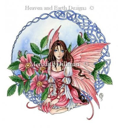 Celtic Rose Fairy
