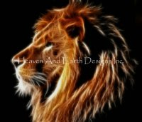 Limited Edition Artist of the Month - Glowing Lion