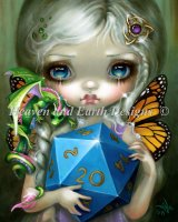 Mini 20 Sided Dice Fairy