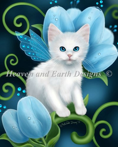 Mini Aquamarine Cat