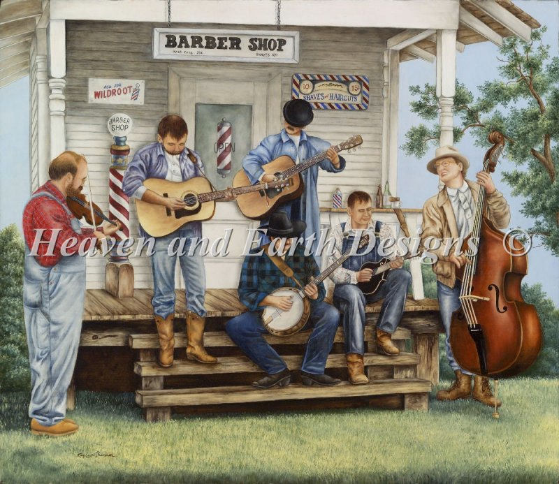 Mini Bluegrass Festival - Click Image to Close