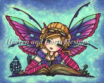 Mini Bookworm Fairy