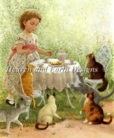 Mini Cat Tea Party