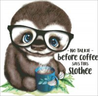 Mini Coffee Sloth