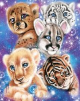 Mini Galaxy Wild Kitten Cubs