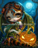 Mini Halloween Dragonling