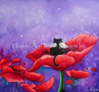 Mini Little Angel in Field of Poppies