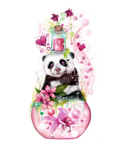 Mini Panda Love Potion