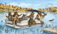 Mini Party Boat Bears