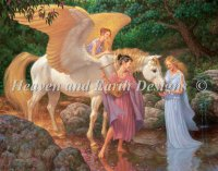 Mini Pegasus and the Muses