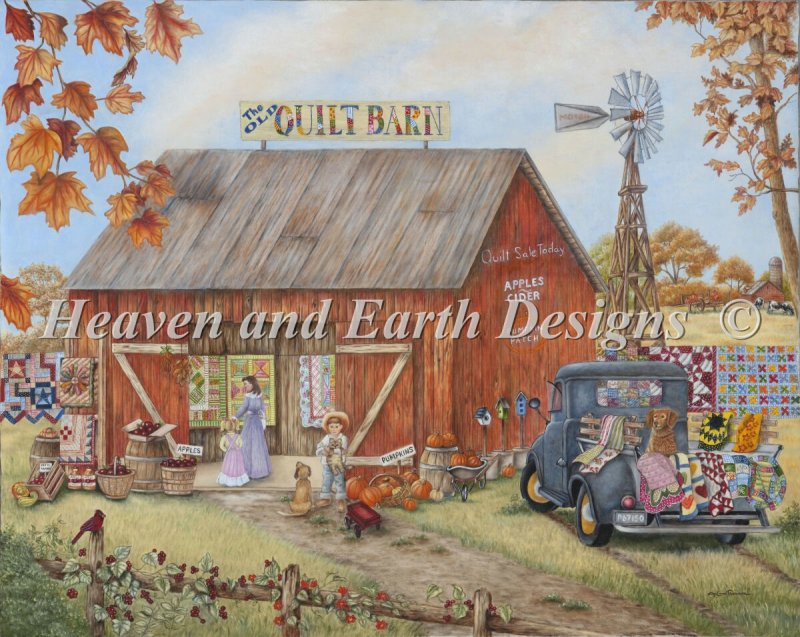 Mini Quilt Barn - Click Image to Close