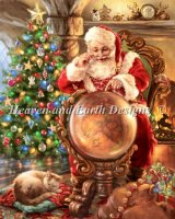Mini Santas Joy Around The World Material Pack