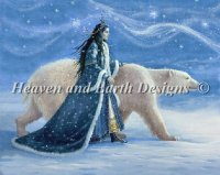 Mini Snow Princess with Polar Bear