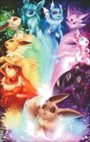 Mini The Possibilities Eeveelution Rainbow Max Color