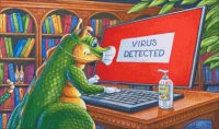 Mini Virus Detected