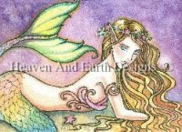 ACEO Lovely Little Mermaid