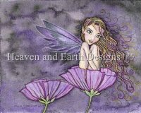 Purple Poppy Fairy