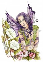 Fairy In The Bindweed Material Pack