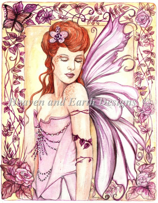 Fairy In The Garden Material Pack - Click Image to Close