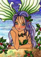 QS Holly Berry Mermaid