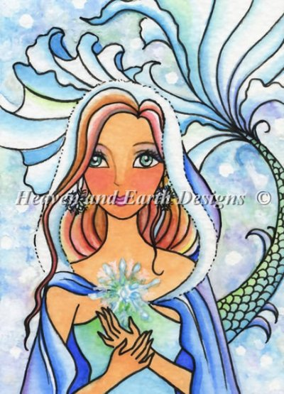 QS Snowflake Mermaid