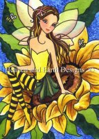QS Sunflower Bee Fae