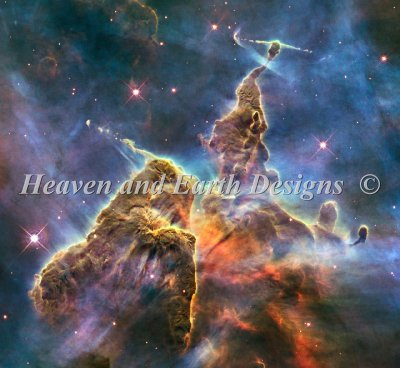 Mystic Mountain Nebula Material Pack