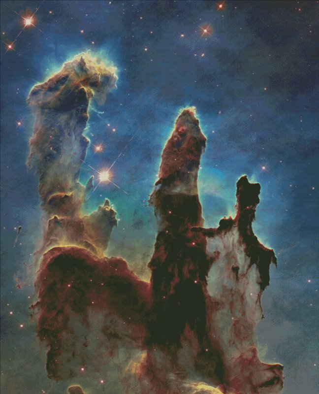 Pillars Of Creation - Click Image to Close