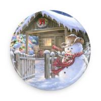 Needle Minder - Christmas Cottage