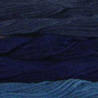 Darker Blues - Collection of 5 Skeins Solid Cotton Floss