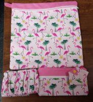 11 x 11 Project Bag Flamingo