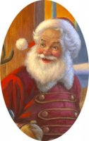 Freebie Old Saint Nick Material Pack
