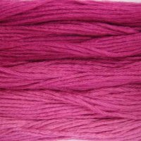 Fushia - Collection of 5 Skeins Solid Cotton Floss