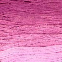Mauves - Collection of 5 Skeins Solid Cotton Floss