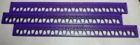 The Line Floss Organizer - Purple (set of 3) (NO LAYAWAY)