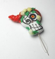 Needle Threader - Sugar Skull 30