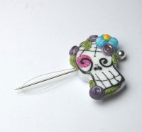 Needle Threader - Sugar Skull 36