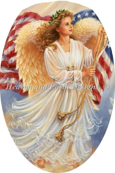 Ornament American Angel