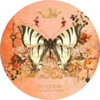 Ornament Butterfly Port Peach