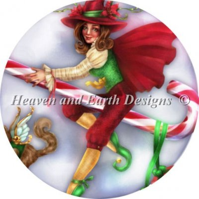 Ornament Christmas Witch