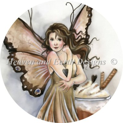 Ornament Hot Chocolate Fairy
