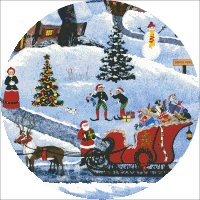 Ornament North Pole Countdown