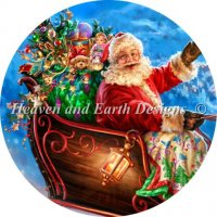 Ornament Santas Magical Flight