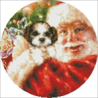 Ornament Shih Tzu For Christmas