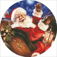 Christmas Ornament Sleigh Ride