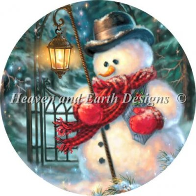 Ornament The Enchanted Christmas Snowman Material Pack